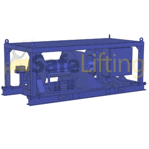 Winch 2t electric Safelifting safe lifting