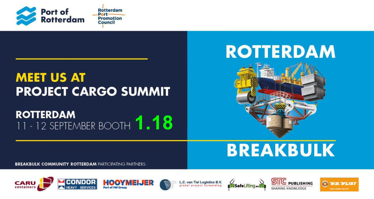 Safe Lifting attends Project Cargo Summit 2019
